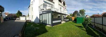 Stilvolle, gepflegte 3-Zimmer-Erdgeschosswohnung mit Terrasse und Garten in Gaimersheim