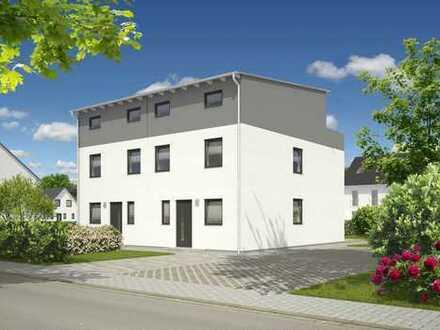 Hier entstehen in absoluter Bestlage mehrere Doppelhäuser von Town&Country Haus