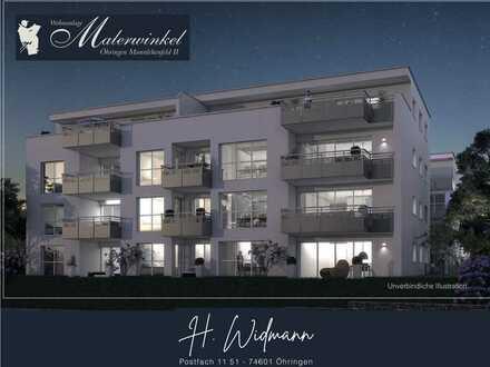 Großzügige 3,5 Zi.-Neubau-Penthouse-Wohnung im DG mit Dachterrasse WHG_13