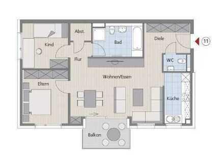 Bezug einer hochwertigen 3-Zimmer-Wohnung