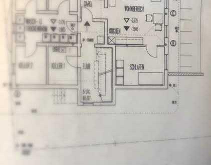 Vollständig renovierte 2-Zimmer-Kellerwohnung mit EBK in Impflingen