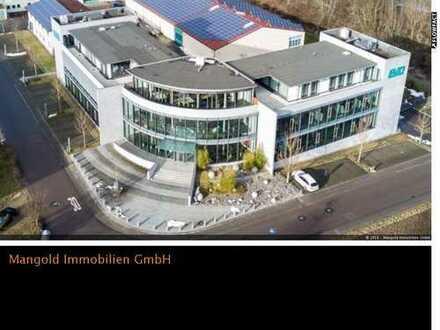 Verwaltungsgebäude mit Produktionshalle in Mietingen