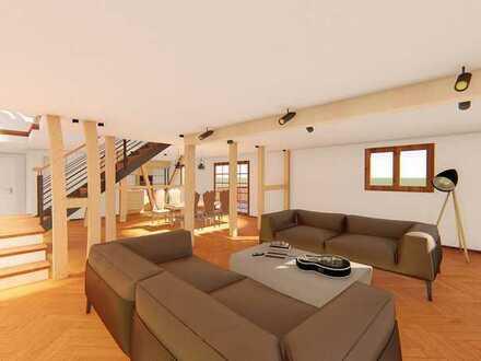 Provisionsfrei   Haus 1   Wohnung 5   3 Zi. Maisonette-Wohnung mit Balkon   OG + DG