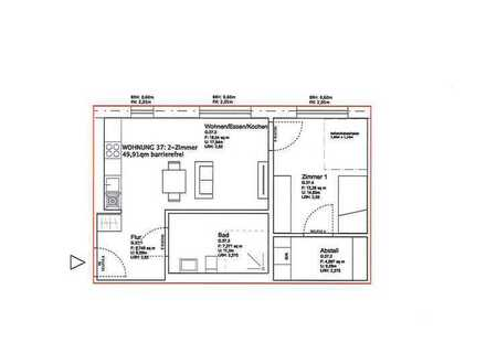 *Neubau* Wunderschöne 2ZKB Wohnung im Landesgartenschaugelände WE37