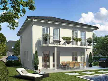 126 qm Wohnfläche in Massivbauweise - STEIN auf STEIN