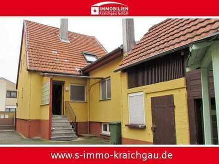 Handwerkerhaus mit Nebengebäuden und möglicher Hinterhofbebauung!