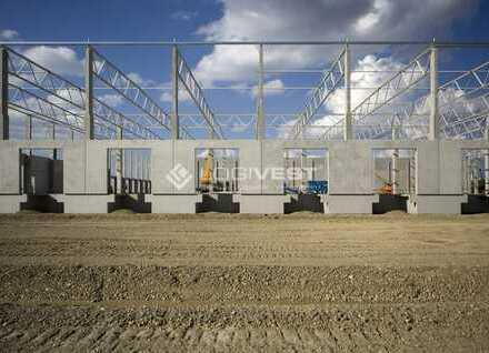 Neubau: Lagerhalle im Norden