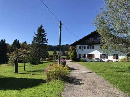 3-Zimmer-Wohnung in herrlicher Lage (Eschach, Nähe Buchenberg) als Dauer- oder Ferienwohnung