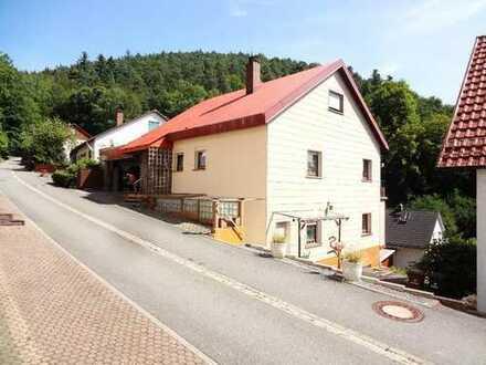 1-2 Fam. Haus*Hanglage* DoppelGarage* Talblick/tolle Aussicht* Südhanglage* Hirschhorn-Langenthal