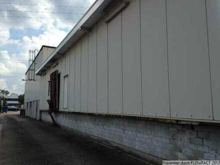 Kleine Kaltlagerhalle im Gewerbegebiet KA-Nordost