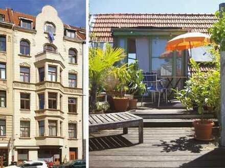 Rathenauviertel 5-Zimmer Dachmaisonettewohnung mit 36 m² Sonnenterrasse