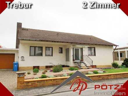 Gepflegte 2-Zimmer Souterrain Wohnung in sehr ruhigem Haus In Trebur.