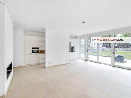 IMMOBERLIN.DE - Zur Miete! Luxuriöse Wohnung mit Südterrasse am Jungfernsee