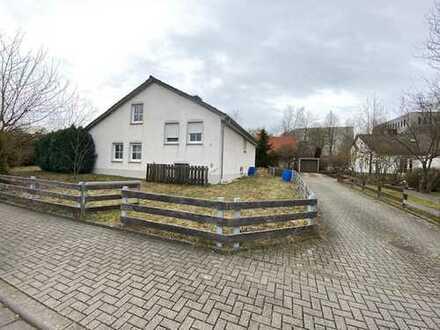 Ruhig gelegenes Einfamilienhaus mit Garten und Garage