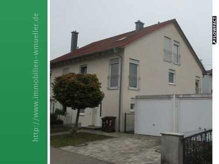 DHH mit Garage u. Garten in 86405 Meitingen / OT zur Miete!