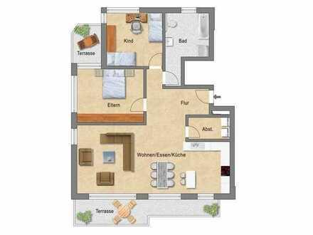 Zentral gelegene KfW 55-Neubauwohnungen