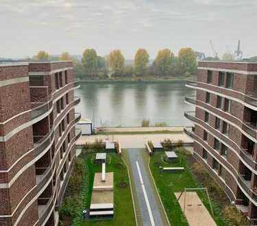 Exklusive 3-Zimmer-Wohnung, Überseestadt, Weserblick, Neubau