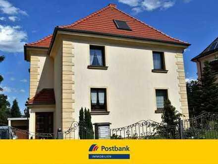 Sehr gepflegtes Haus mit herrlicher Aussicht über Dresden