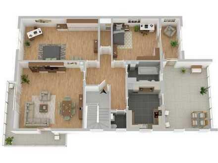 Großzügige 3 Zimmer-Wohnung mit riesiger Loggia in Bestlage von Feudenheim!