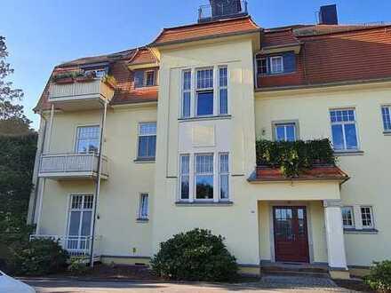 Für Kapitalanleger wunderschöne 2-R-Whg m. großer Terrasse in ruhiger Lage - Radebeul OT Oberlößnitz