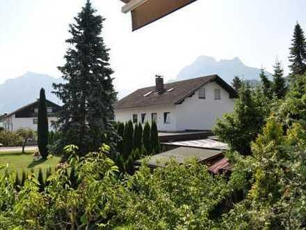 Ruhig Wohnen mit Berg- und Schlossblick