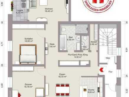 Großzügige 3,5-Zimmer-Eigentumswohnung im Stadtzentrum von Bad Mergentheim