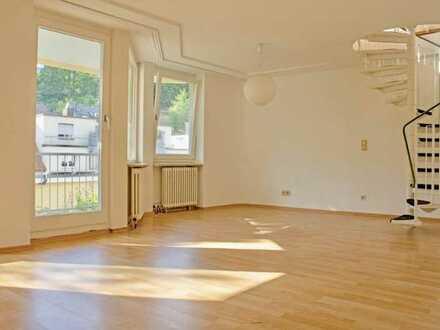 Wohnen in der Innenstadt von Baden-Baden in einer hellen maissonetten Wohnung.
