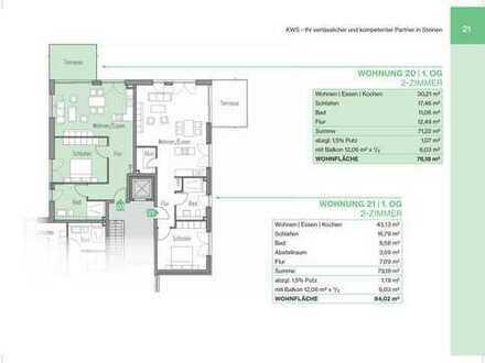2-Zimmerwohnung mit Balkon und Lift (Whg 21)
