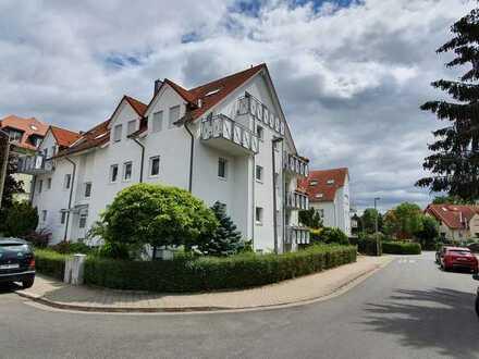 Gepflegte 2-Zimmer-DG-Wohnung mit Balkon und EBK in Leipzig