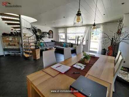 Moderne 4-Zimmer-Maisonetten-Wohnung mit Sonnenbalkon