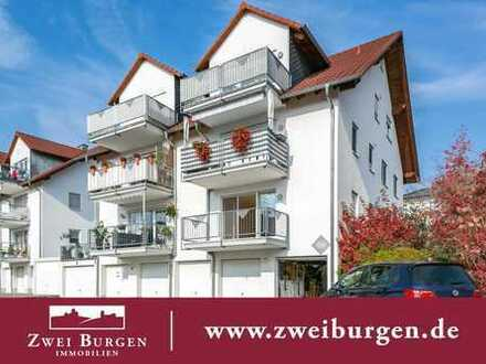Sonnige 3-Zimmer-Eigentumswohnung mit Balkon, Terrasse und Garten