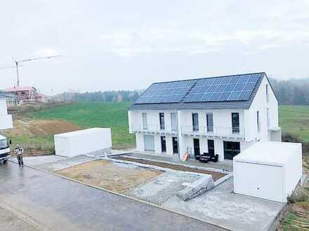 Neubau großzügiges Architektenhaus DHH im Grünen und nah dem Zentrum