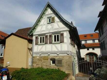 Renovierte 3,5-Zimmer-Mietwohnung in einem Fachwerkhaus