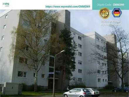 Wohnen - ganz oben, mit Aufzug, Balkon und Gäste-WC! Top renoviert!