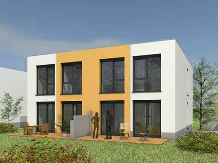 Modernes Zweifamilienhaus in DH-Stil im Grünen (WE 1)