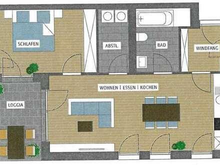 2-Zimmer-Wohnung mit Aussicht