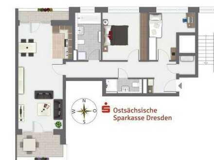 Moderne Neubau-3-Raum-Wohnungen mit Loggia