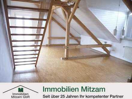 Bezaubernde Galerie-Wohnung in ruhiger u. sonniger Lage von Beilngries
