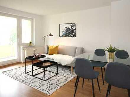 frisch renovierte 2 Zimmer mit Sonnenbalkon unweit von Leipzig!