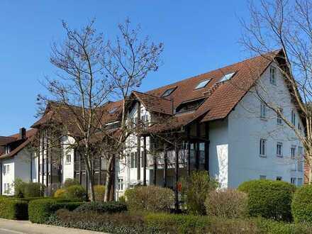 Verkauf einer Maisonette-Dachwohnung in Sexau im Umland von Freiburg