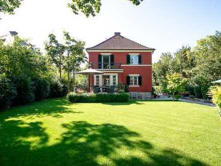 Wunderschönes möbliertes Einfamilienhaus mit idyllischem Garten in Laim