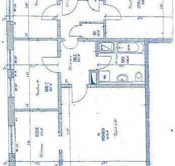 Gepflegte 4-Zimmer-Wohnung mit Balkon und Einbauküche in Buchloe