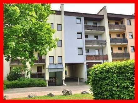 Schöne und helle 3-Zimmerwohnung mit zwei Balkonen und Garage