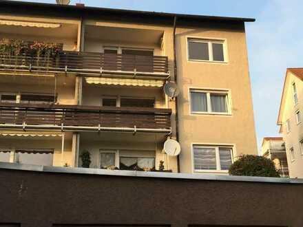 3-Zimmer EG-Wohnung mit Balkon und Einzelgarage in Neuenbürg
