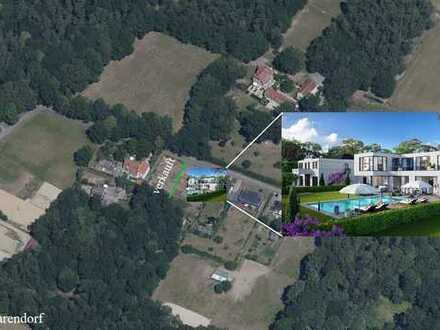Grundstück von 1.177 m² Größe im Außenbereich zwischen Münster und Telgte