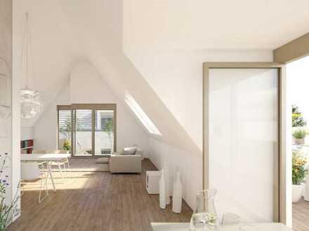 WE 4 im Dachgeschoss, 3 Zimmer-Penthouse Wohnung mit Balkon und Dachterrasse