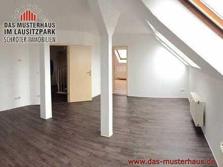 Moderne 4-Raum-Maisonettewohnung im Dachgeschoß