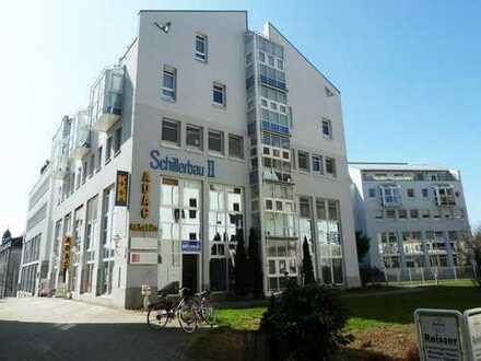Vermietete Büroeinheit im Schillerbau II