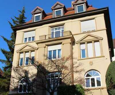 Stilvolle Altbauetage in bevorzugter Halbhöhenlage von Stuttgart-Süd