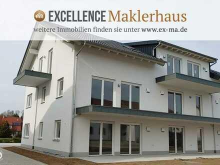 Zwei Balkone - gehobene Ausstattung - 3-Zi-Dachgeschosswohnung im schönen Illerwinkel!